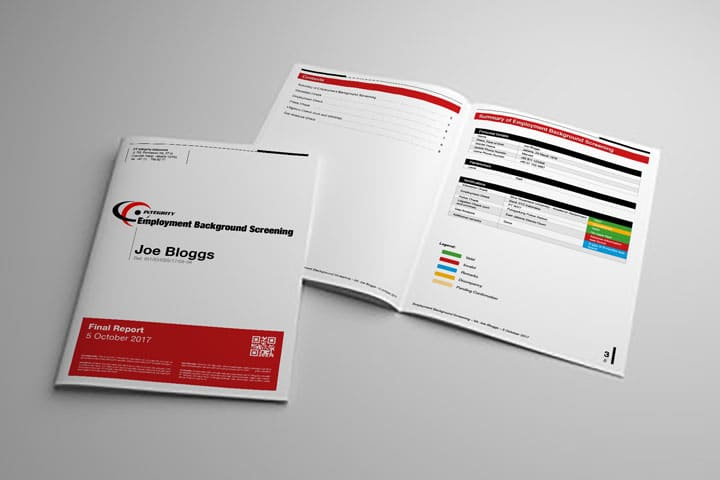 Subscribe to get the complete sample report «Employment Background Screening» (PDF Format / 400Kb)